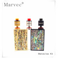 Mod With 4000mah Battery 80W E-Cigarette box mod 510 thread Vaporizer