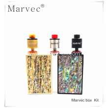 OEM for Box Mod Vape,Thick Smoke Vape,Mod Box Kit Vape Manufacturer in China Marvec 218W voltage control box vaping mod supply to France Supplier
