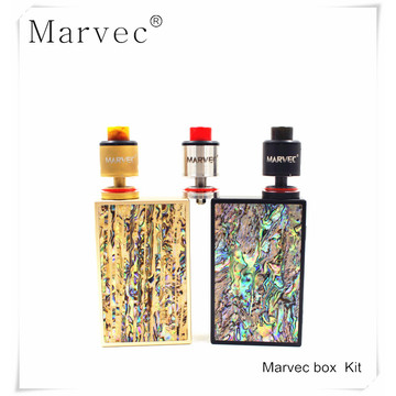 2017 Marvec 218W vaping box kit kit vaporizer