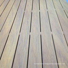 Capped Wood Plastic Composite Deck for Swimming Pool