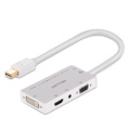 Mini DisplayPort Dp para HDMI / DVI / VGA / Cabo Adaptador de Áudio Estéreo