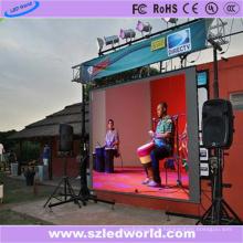 Mur visuel polychrome extérieur de location de P8 LED (CE FCC)