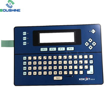 Flex type adhesive membrane switch for PC keyboard