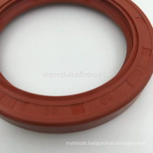 AUTO OIL SEAL 91212-PC6-003, NBR,BROWN COLOR,SKELETON,DOUBLE LIP