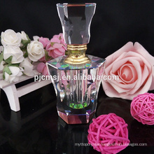 Factory direct sale cheap wedding gifts for lady Arabic empty Crystal Glass Perfume Bottles