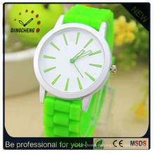 Silikon-Genf-Uhr, Gelee-Armbanduhren, China-Uhr-Herstellung (DC-249)