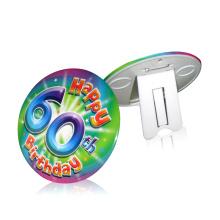 Пользовательские Pin металла олово Кнопка Знак завода Круглый 160 мм