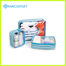 Custom Clear PVC Travel Cosmetic Bag
