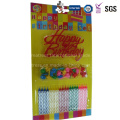 Singing Happy Birthday Personalized Eco-Friendly Raw Material Tall Pillar Candles