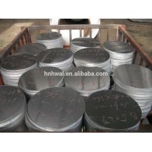 Антипригарный круглый алюминиевый круг / алюминиевые круги для посуды 1050 3003
