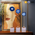 Artigos de exibição de luxo personalizados China decoração de cristal