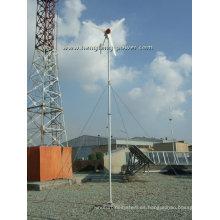 Fabricantes de la fuente 150w uso familia pequeña turbina eólica aerogenerador