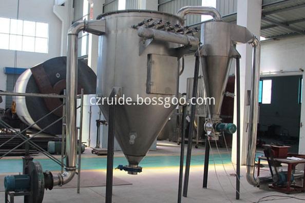 spin flash drying machine