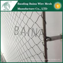 Hebei Baina flexible tricotado stianless alambre de acero malla de malla de malla / Parque de atracciones Productos de seguridad