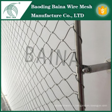 Hebei Baina гибкий трикотажный сетчатый стальной проволочный сетчатый забор / Парк аттракционов Безопасность