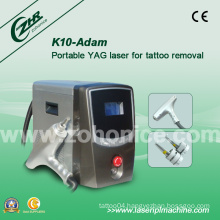 K10 1064nm/532nm Q Switched ND YAG Laser for Eyeliner Removal