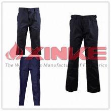 calças de algodão 100% repelente de insetos para a indústria de mineração