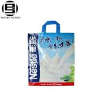 Le sac à provisions de promotion de poudre de lait met en sac le matériel de HDPE de la vierge