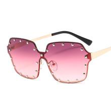 rivet ocean color sun glasses 2020 new arrivals vintage fashion custom designer luxury shades metal sunglasses women men 36003