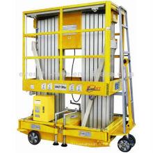 Plate-forme de travail en aluminium d'ascenseur de ciseaux de plate-forme de travail aérien en aluminium de 4-22m