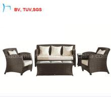 2016 Popular Design Sectional Rattan Furniture Outdoor 3+1 Sofas