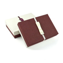 Caja de regalo de embalaje de cartón de papel hecho a mano