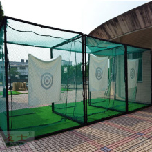 Golf training equipments practice fence net