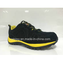 Black Suede MD+Rb Cemented Sole Safety Shoes (HQ0161032)