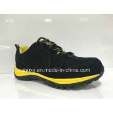 Camurça Preto MD + Rb cimentado sapatas de segurança exclusivo (HQ0161032)