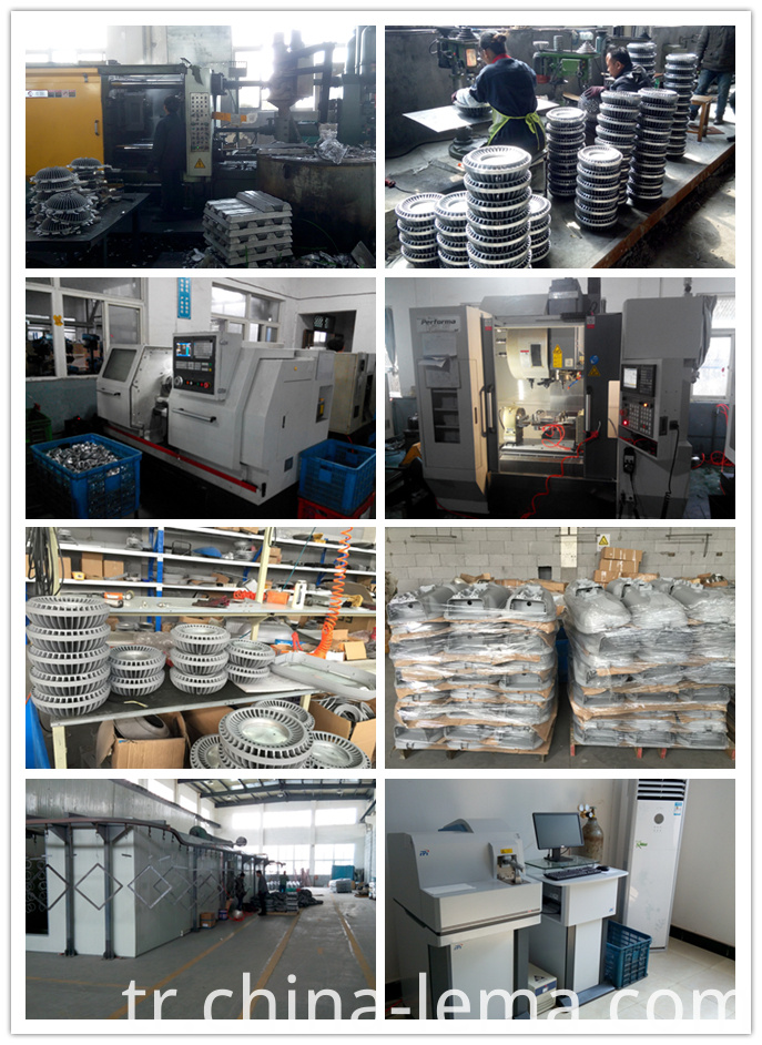 The production of the LED light parts