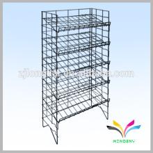 5 Tiers Floor Standing Metal Display Wire Rack