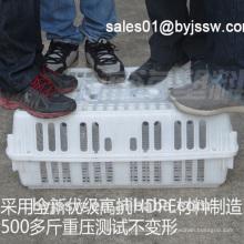 Colheita de transporte de aves HDPE de plástico