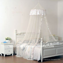 mosquito net, mosquito canopy, bed net, circular mosquito net