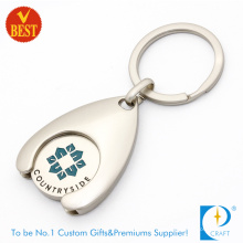 2016 Wholesale Custom Trolley Token Coin Key Chain at Factory Price (K-0135)