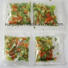 Sachet de légumes secs à haute qualité