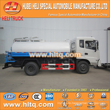 DONGFENG 4x2 10000L suction dung truck 190hp cummins engine