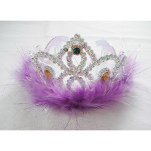 Purple Feather PP Diamond Tiara