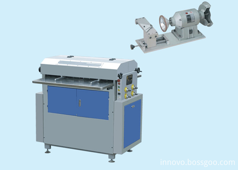 Innovo 850 paper board grooving machine
