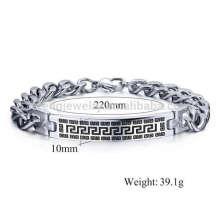 Pulseiras de pulseira de metal vintage para homens, jesus christ pulseira jóias