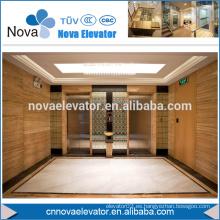 1000KGS MRL gearlesss elevador de pasajeros para hotel