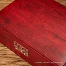 Papier décoratif grain de bois pour boîte