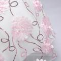 Новая модель блестки девочка платье стерео цветок девочка летнее платье с блестками для Западной наряды