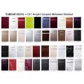 Laminado MDF Cozinha Portas para armários com tamanhos personalizados (mais de 200 cores para escolher)