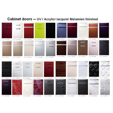 Porte en armoires de cuisine acrylique (DM-9616)