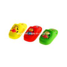 Виниловые милые пластиковые тапочки для домашних животных