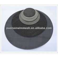 mild steel black wire cloth for rubber filter