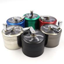 Four-layer super hand crank 63mm cheap Smoke grinder