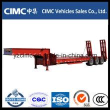 Cimc Three Axle Low Bed Semi Trailer