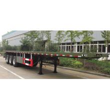 Three-Axle 40t Flatbed Semi-Trailer