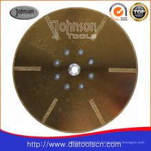Lame de scie électrolytique Od230mm haute qualité pour la coupe de verre